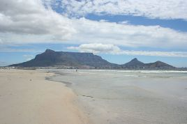 Milnerton Lagoon and Beach
