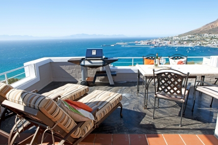 Cape Town Self Catering Accommodation - Simons Town Penthouse