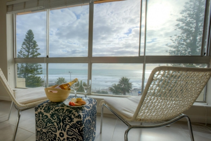 Sea Point Self Catering - Vue Devant