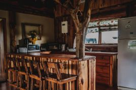 Swellendam Accommodation - A Log Home at Buffalo Creek
