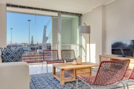 Cape Town Waterfront Accommodation - Harbour Bridge 2 Bed Standard