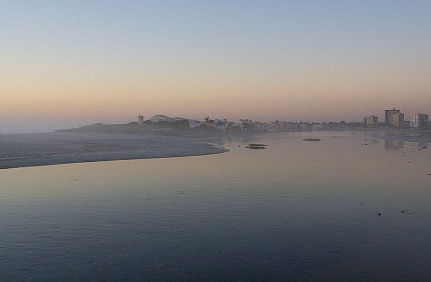 Milnerton Lagoon and Beach